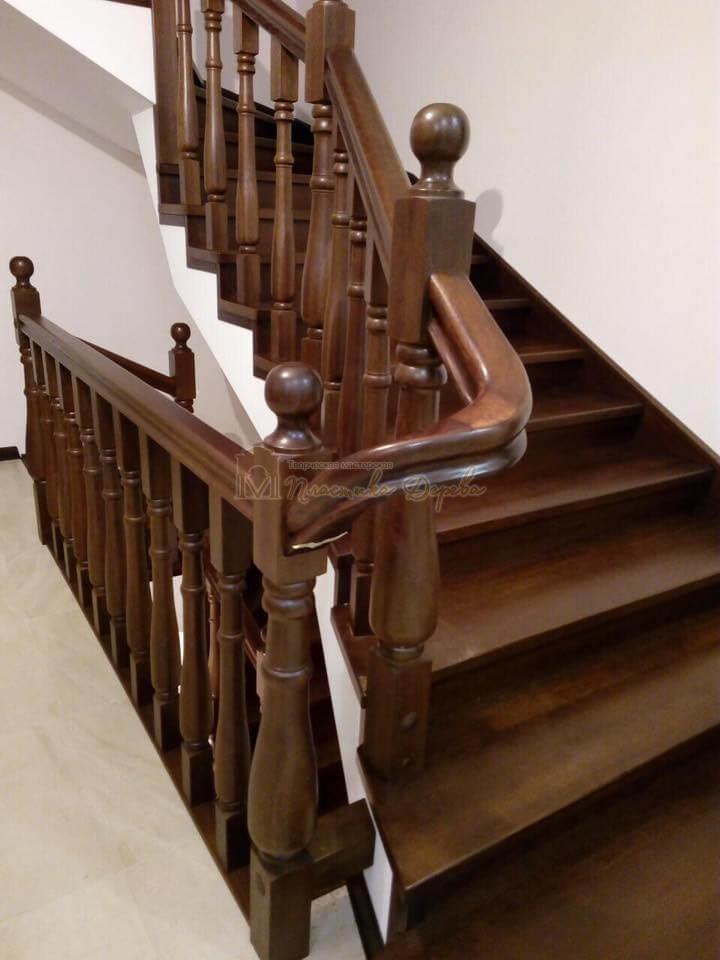 Фото 39 лестницы с подиумом