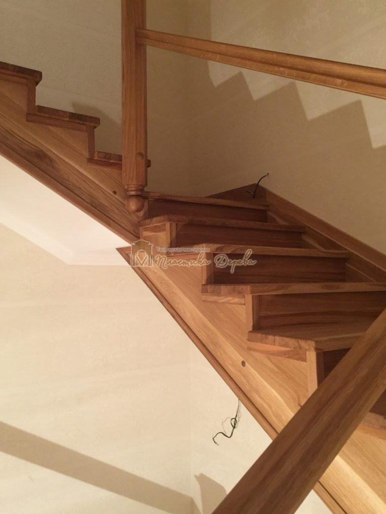 Фото 7 лестницы из дуба (покрытие масловоск)