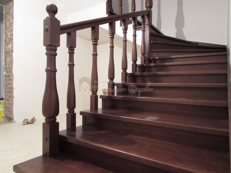 Фото 13 лестницы с подиумом