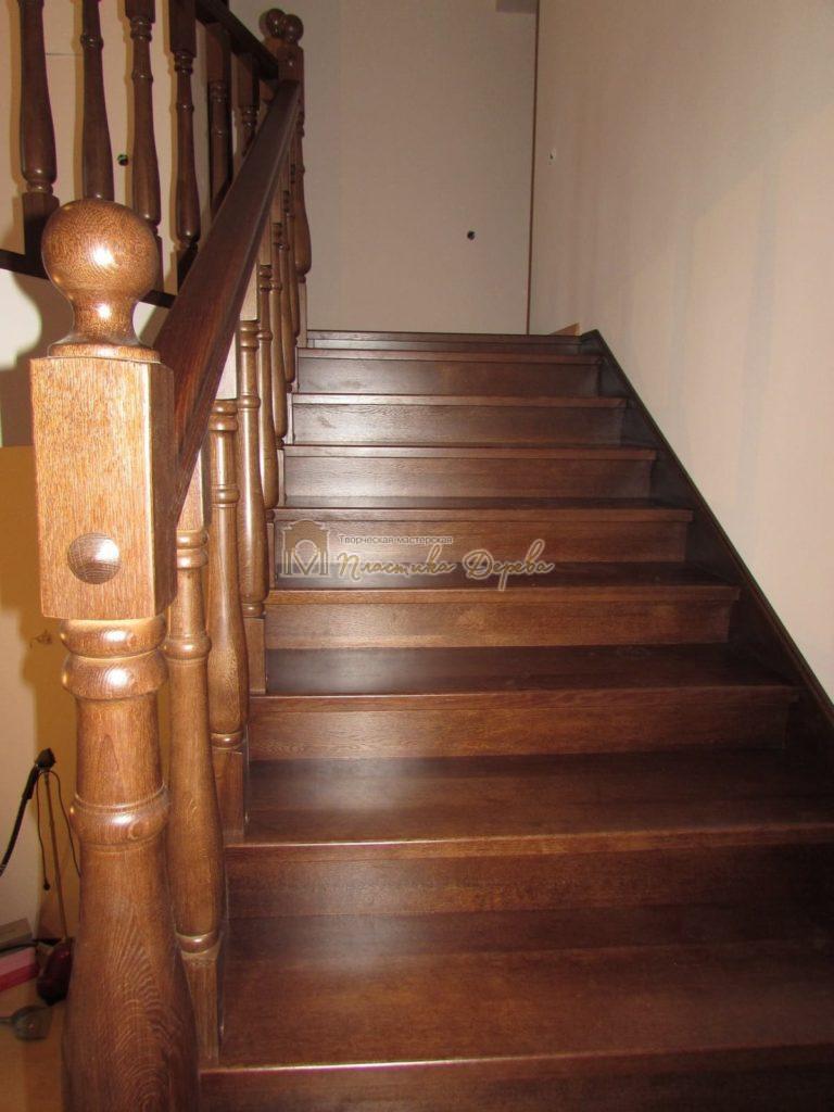 Фото 34 лестницы с подиумом