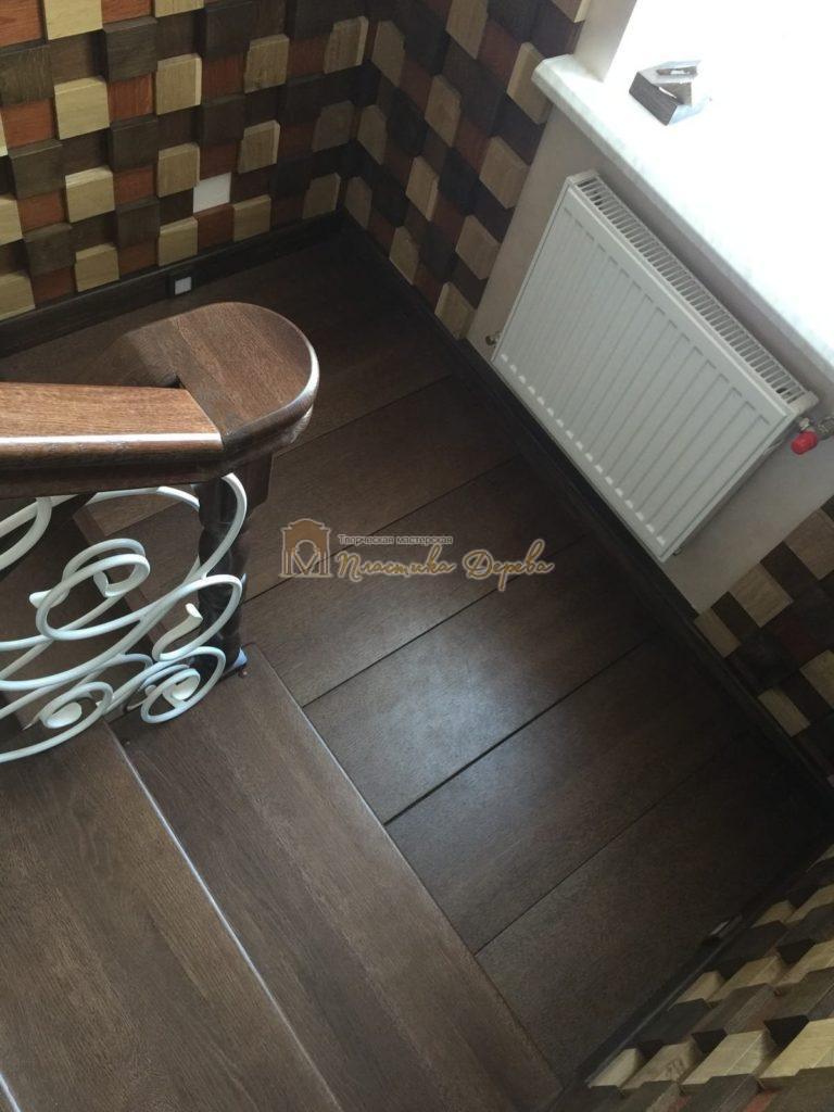 Фото 8 лестницы из дуба с ковкой