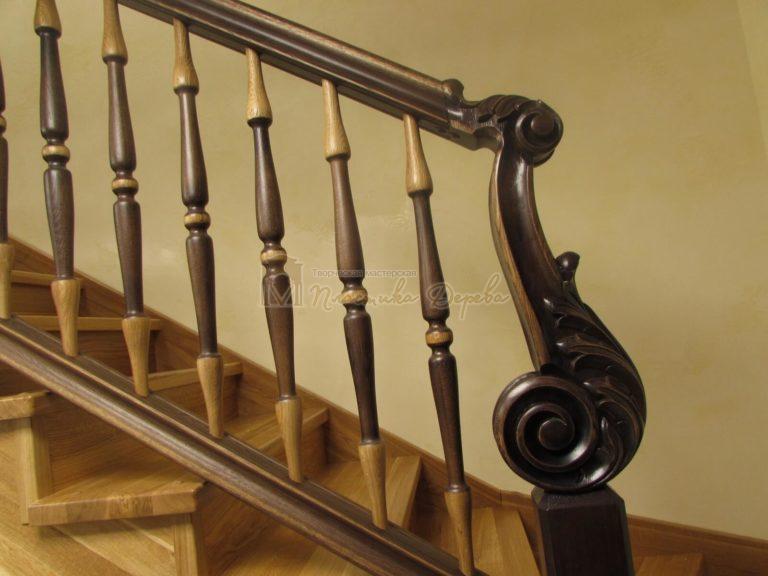 Фото 28 лестницы из дуба в испанском стиле