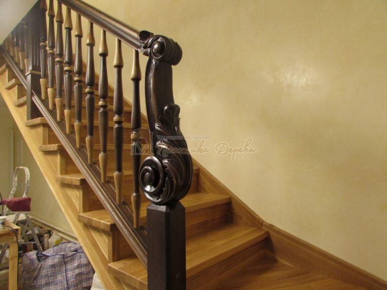 Фото 30 лестницы из дуба в испанском стиле