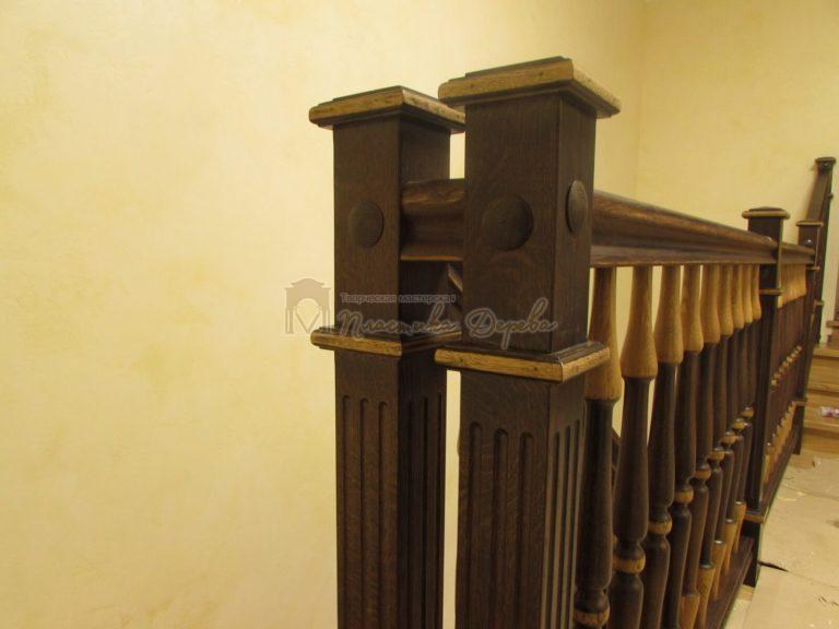 Фото 6 лестницы из дуба в испанском стиле