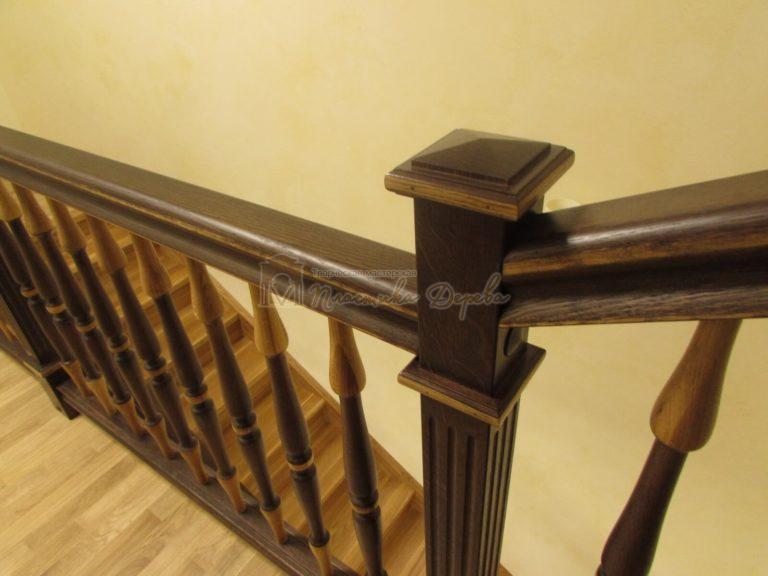 Фото 14 лестницы из дуба в испанском стиле