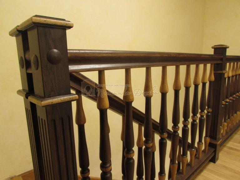 Фото 19 лестницы из дуба в испанском стиле