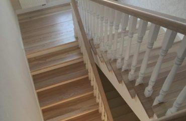 Маршевые лестницы из дерева (фото)