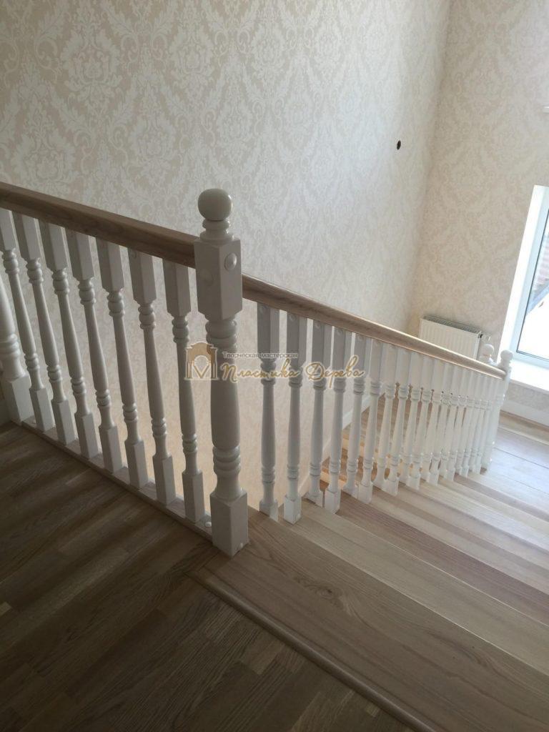 Фото 12 маршевых лестниц из дерева