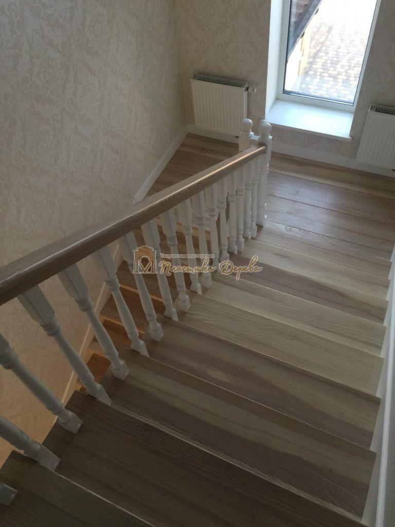 Фото 10 маршевых лестниц из дерева
