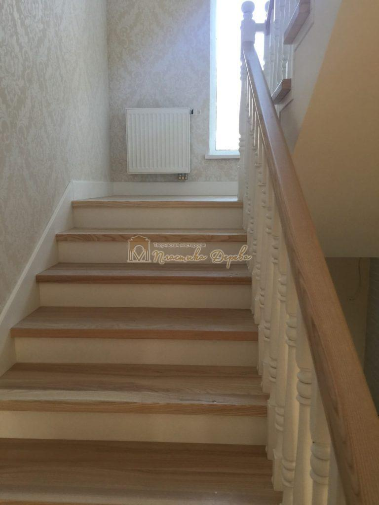 Фото 6 маршевых лестниц из дерева