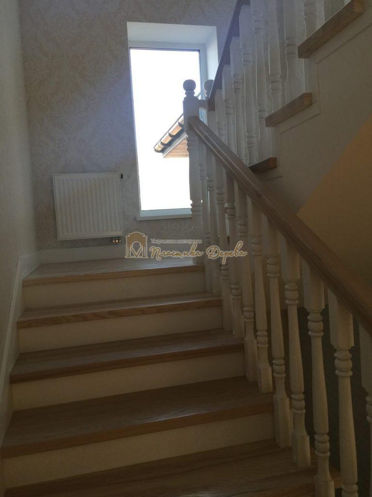 Фото 5 маршевых лестниц из дерева