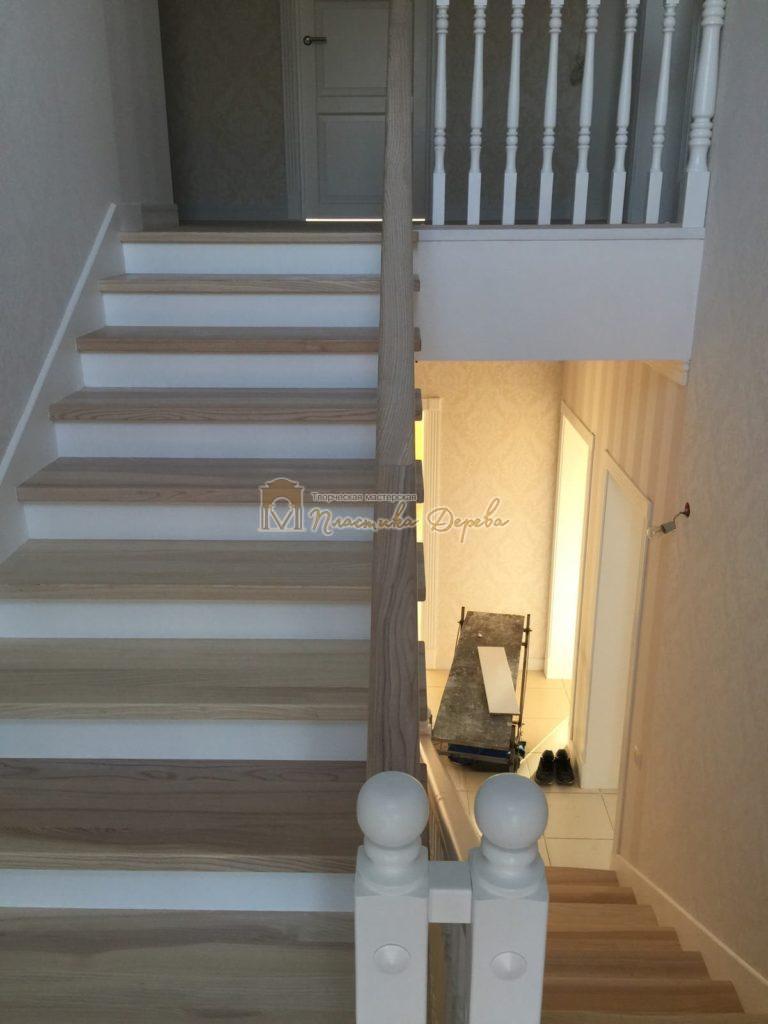 Фото 1 маршевых лестниц из дерева
