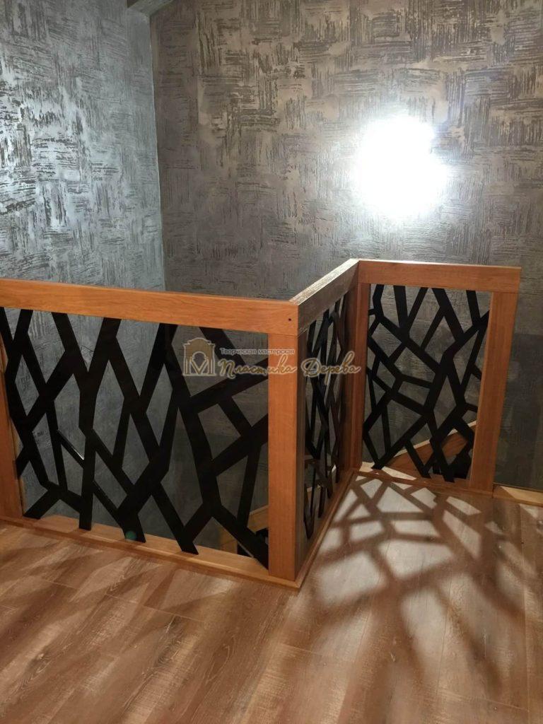 Фото 11 лестницы из дуба в современном стиле