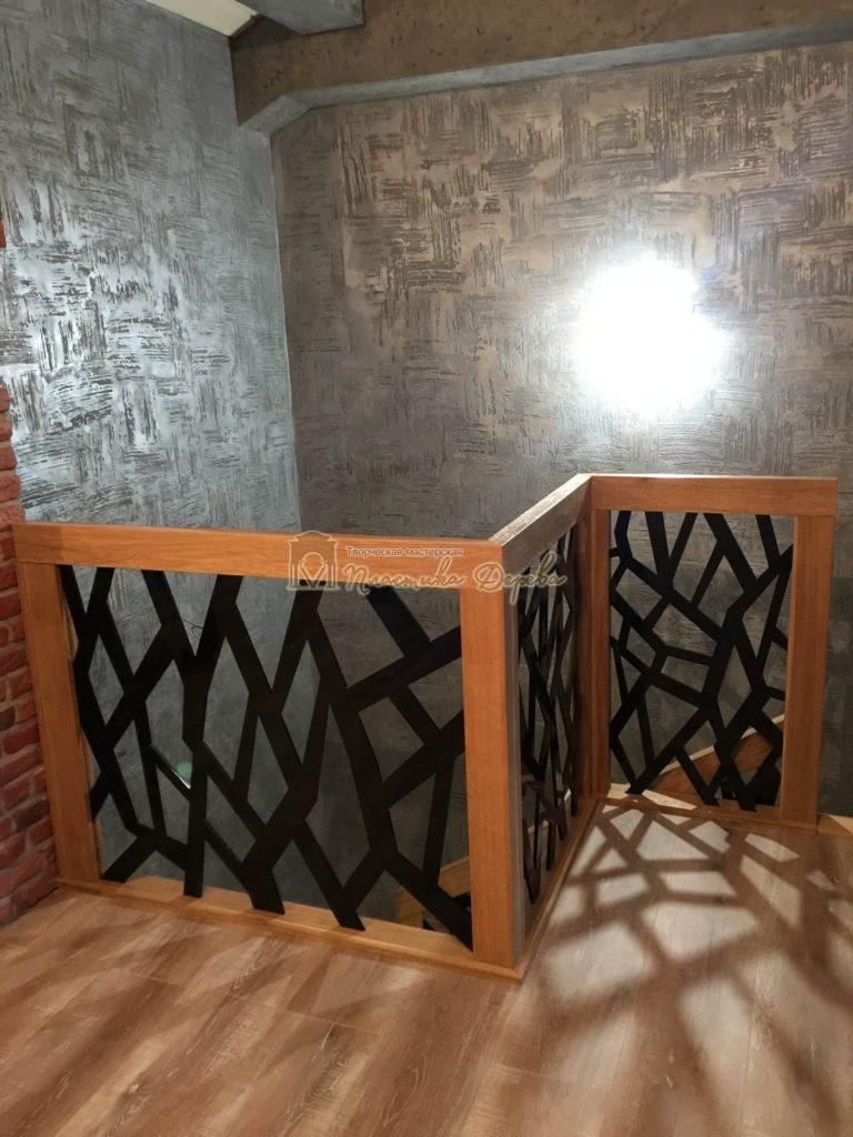 Фото 12 лестницы из дуба в современном стиле