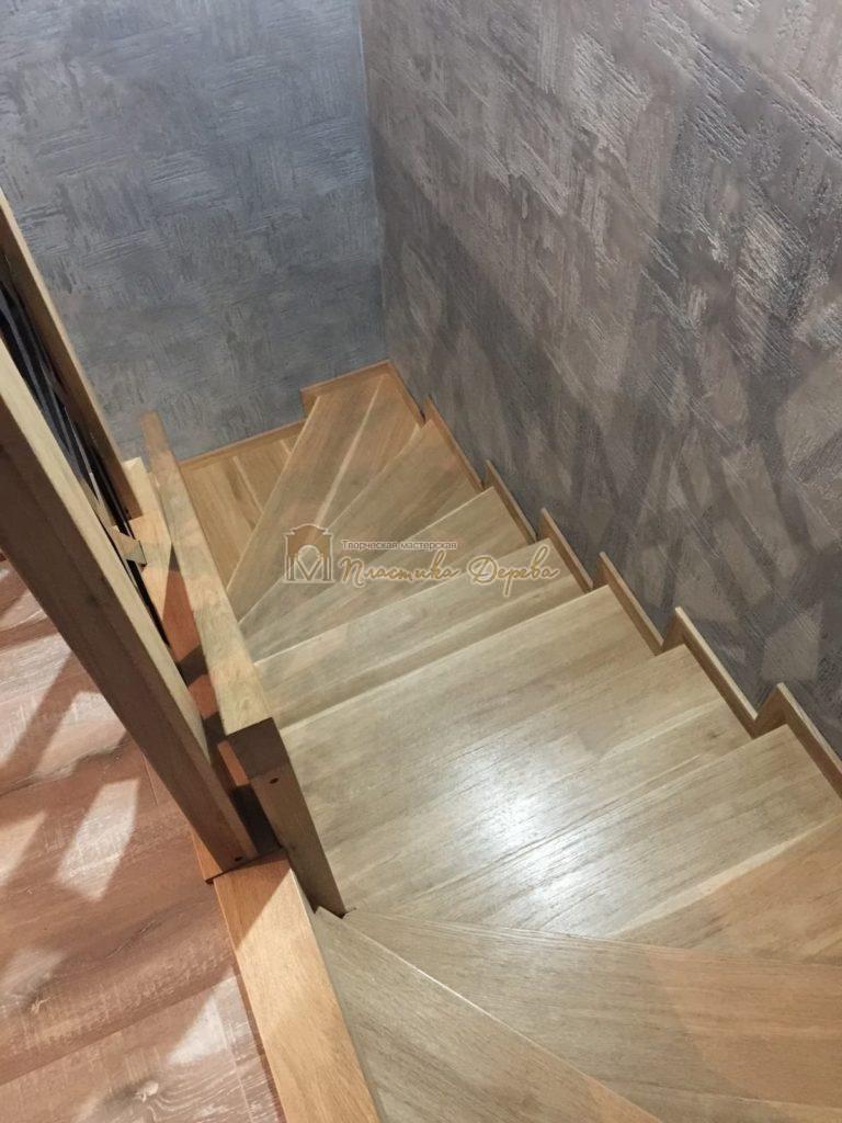 Фото 13 лестницы из дуба в современном стиле
