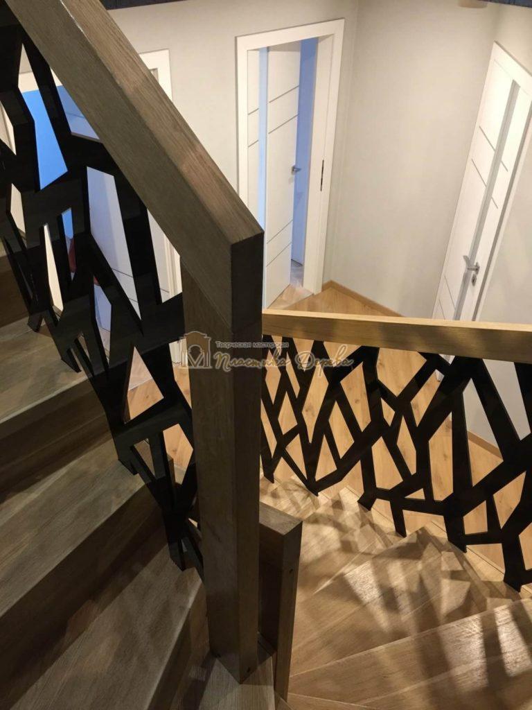 Фото 16 лестницы из дуба в современном стиле