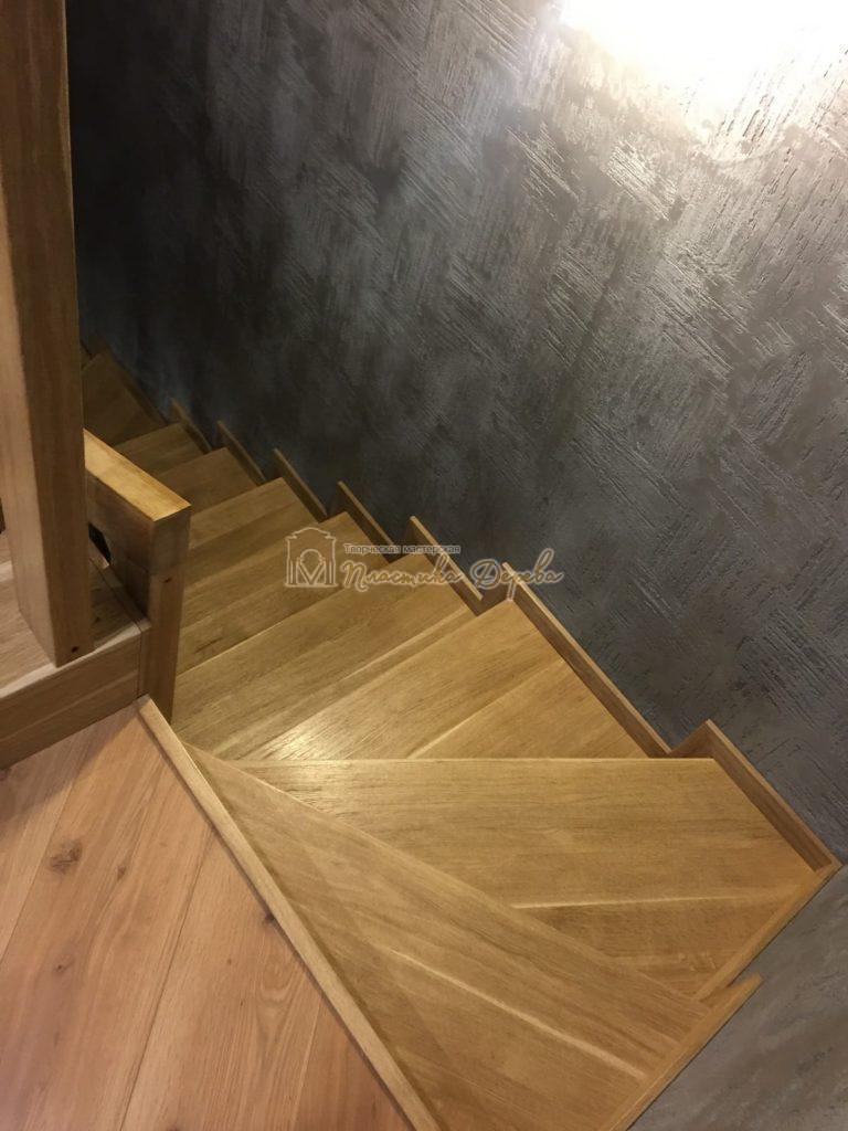 Фото 5 лестницы из дуба в современном стиле