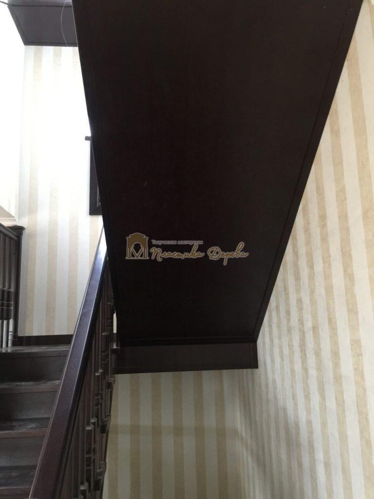 Фото 3 полувинтовой лестницы из ясеня