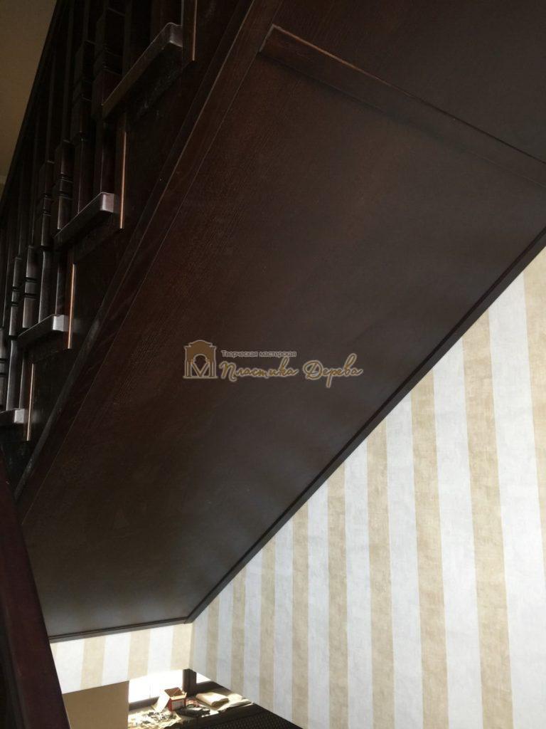Фото 22 полувинтовой лестницы из ясеня