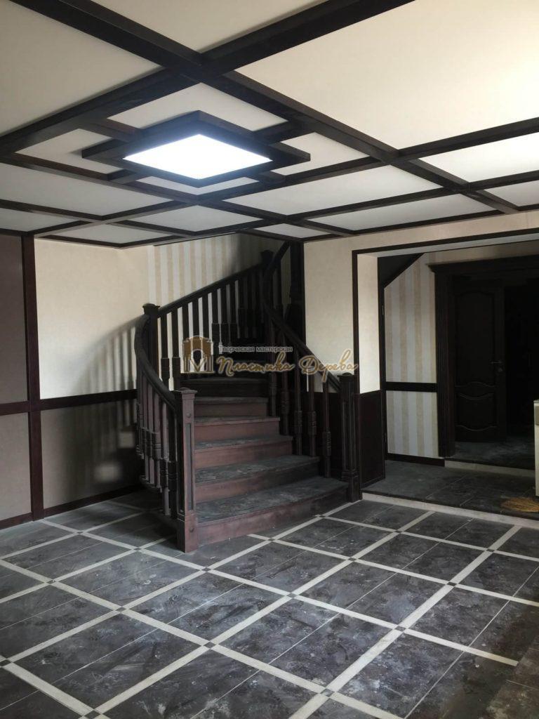 Фото 36 полувинтовой лестницы из ясеня