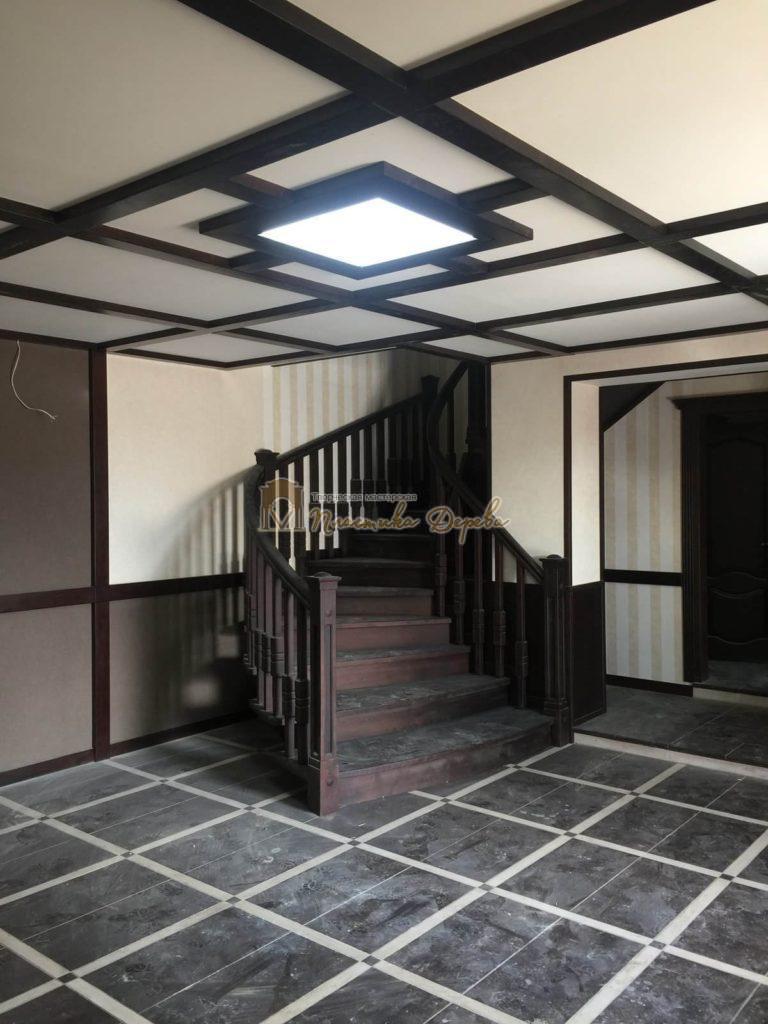 Фото 37 полувинтовой лестницы из ясеня