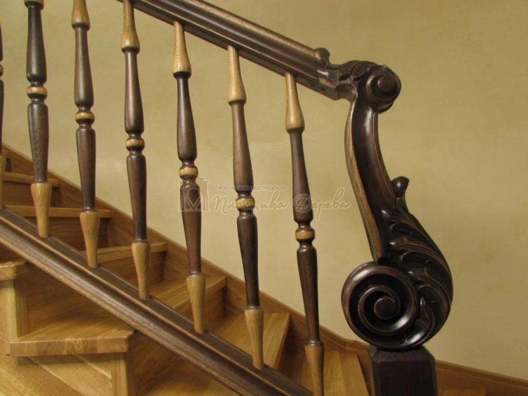 Фото 27 лестницы из дуба в испанском стиле
