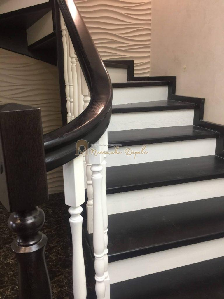 Фото 4 лестницы с забежными ступенями