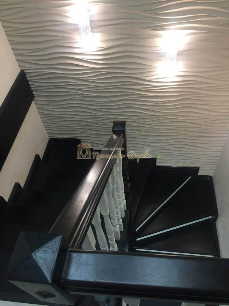 Фото 11 лестницы с забежными ступенями