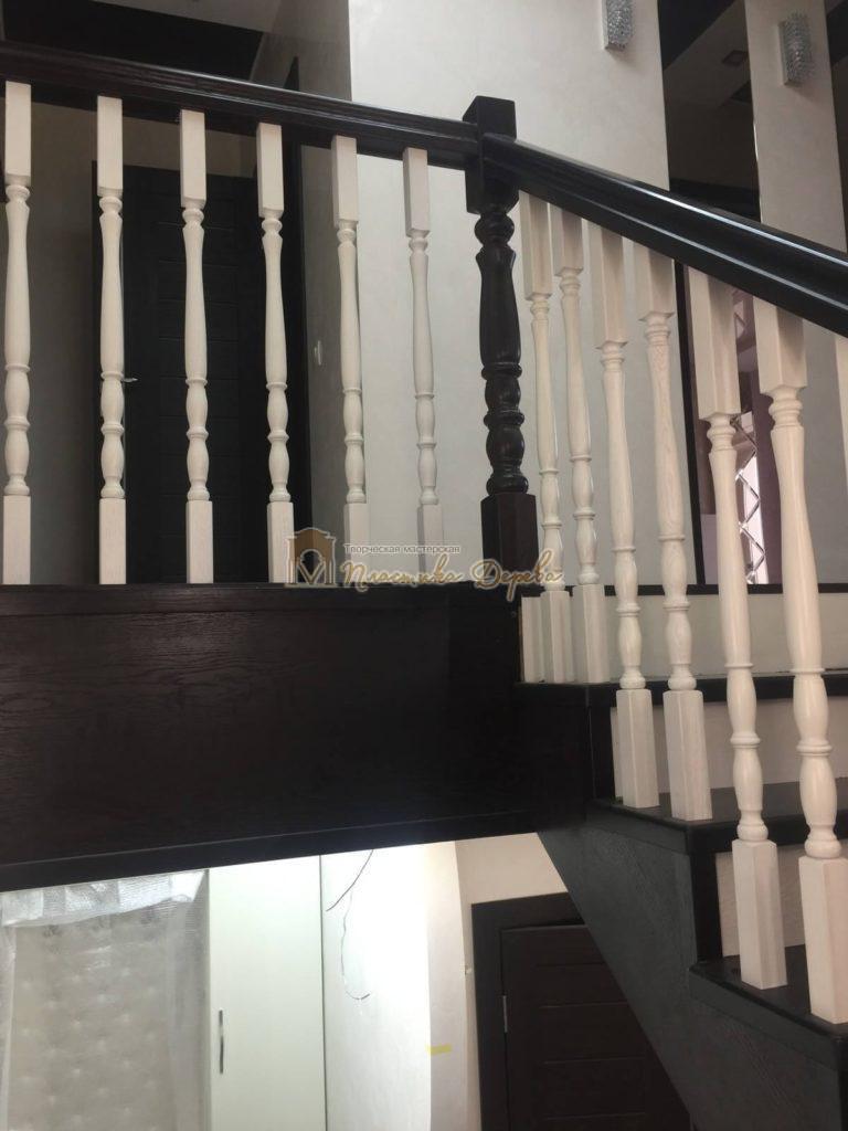 Фото 17 лестницы с забежными ступенями
