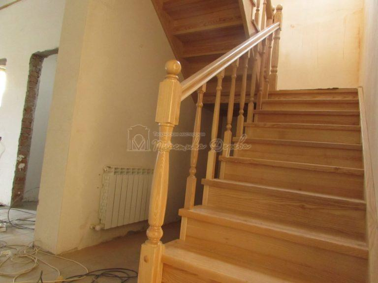 Фото 5 лестницы из ясеня под лак