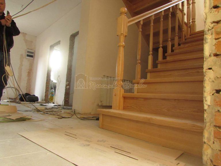 Фото 6 лестницы из ясеня под лак