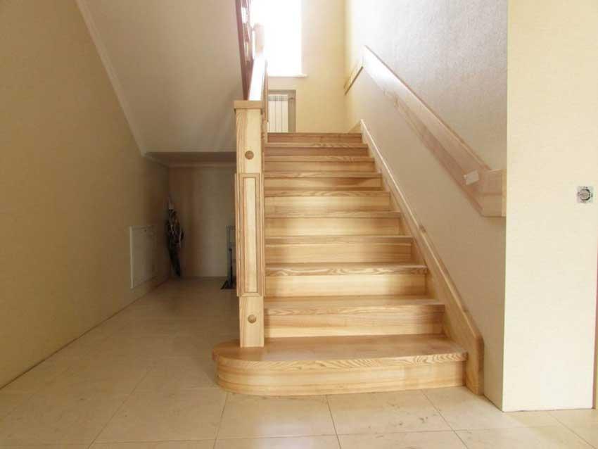 Деревянные лестницы на второй этаж (фото лестницы)