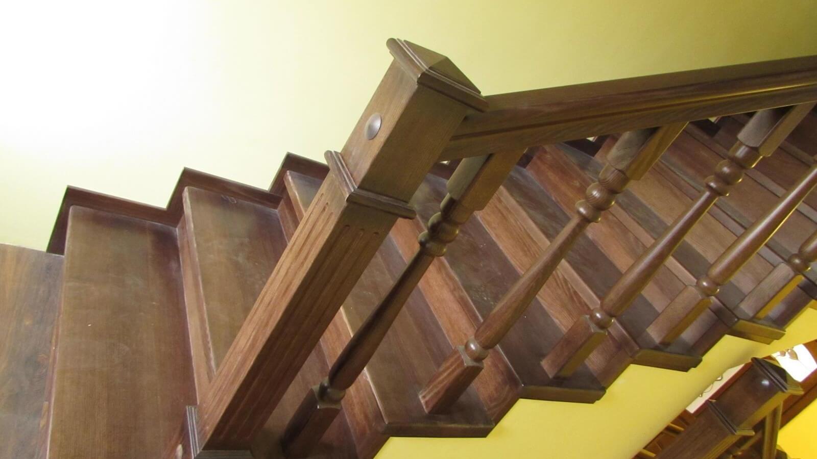 Лестницы с прямым маршем (фото лестницы)