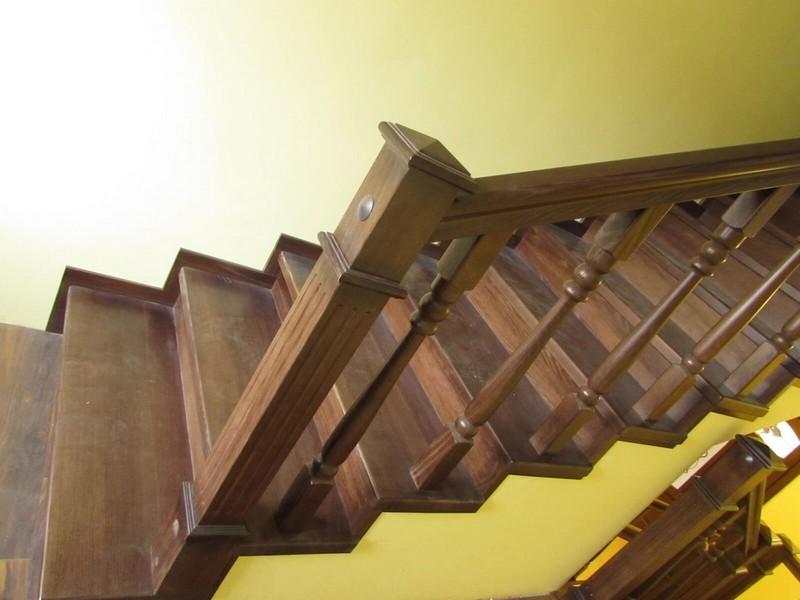 Лестница с прямым маршем