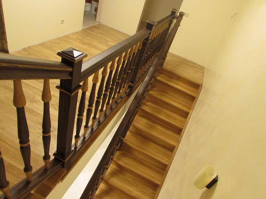 Деревянные лестницы (Чернигов). Фото лестницы