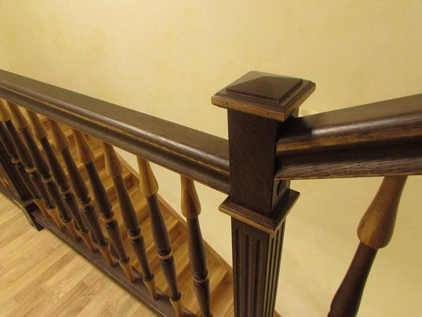 Деревянные лестницы (Киев) недорого (фото лестницы)