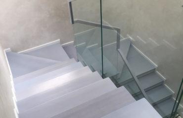 Лестница комбинированная (фото проекта)