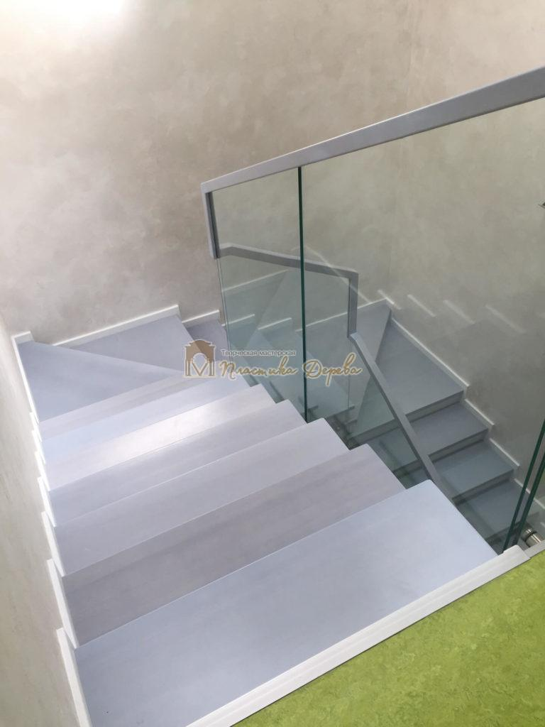 Фото 8 комбинированной лестницы