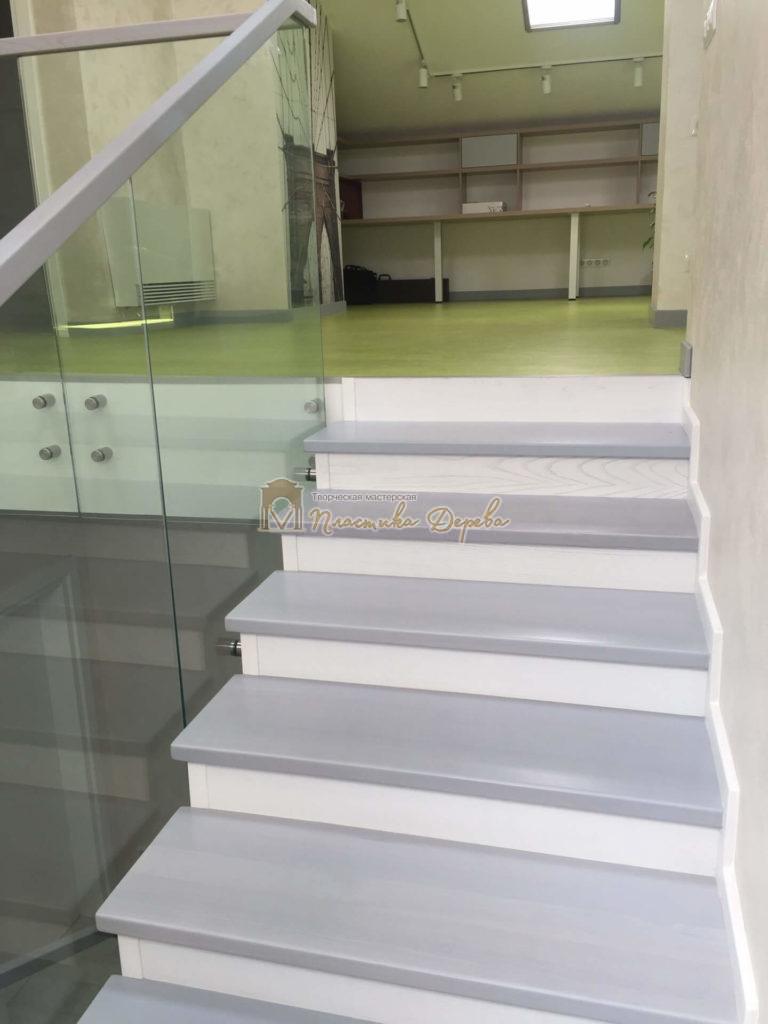 Фото 10 комбинированной лестницы