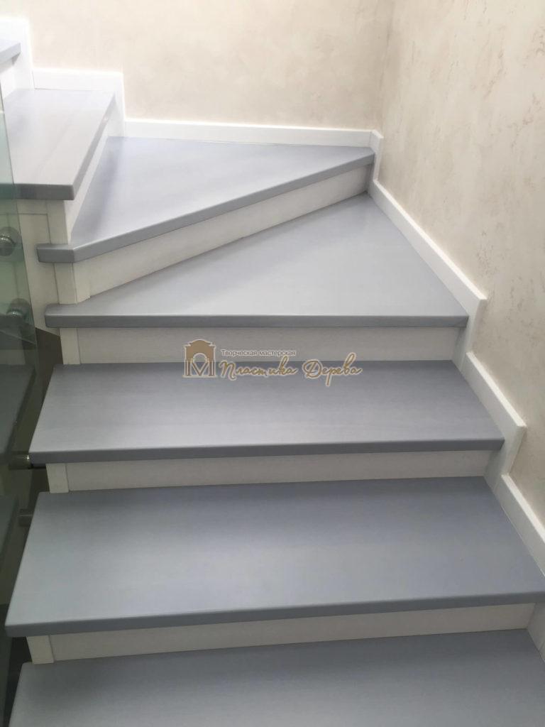 Фото 13 комбинированной лестницы