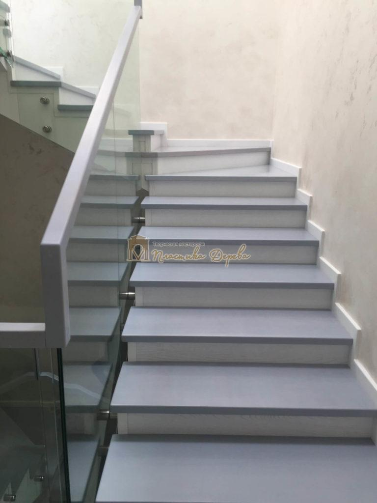 Фото 14 комбинированной лестницы