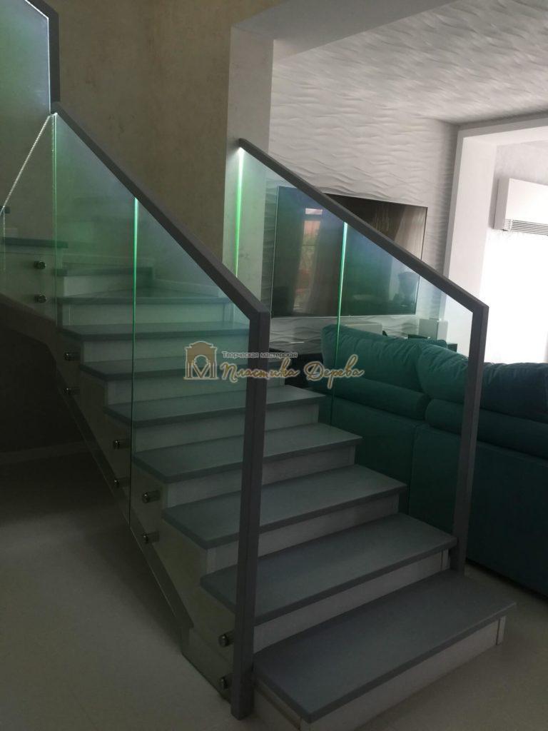 Фото 4 комбинированной лестницы