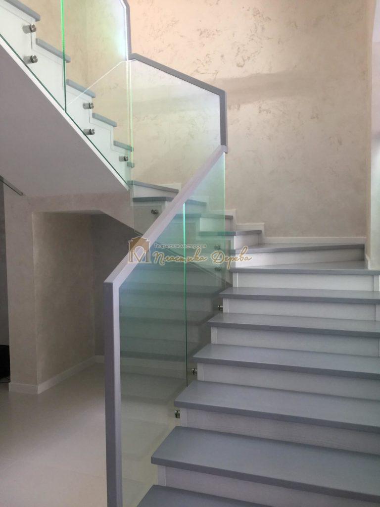 Фото 5 комбинированной лестницы
