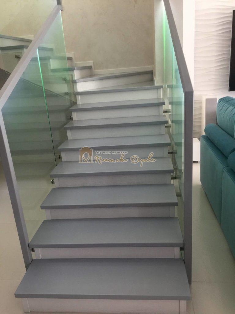 Фото 6 комбинированной лестницы