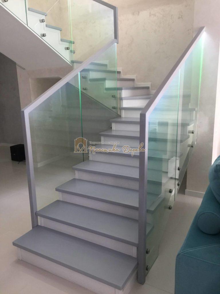 Фото 7 комбинированной лестницы