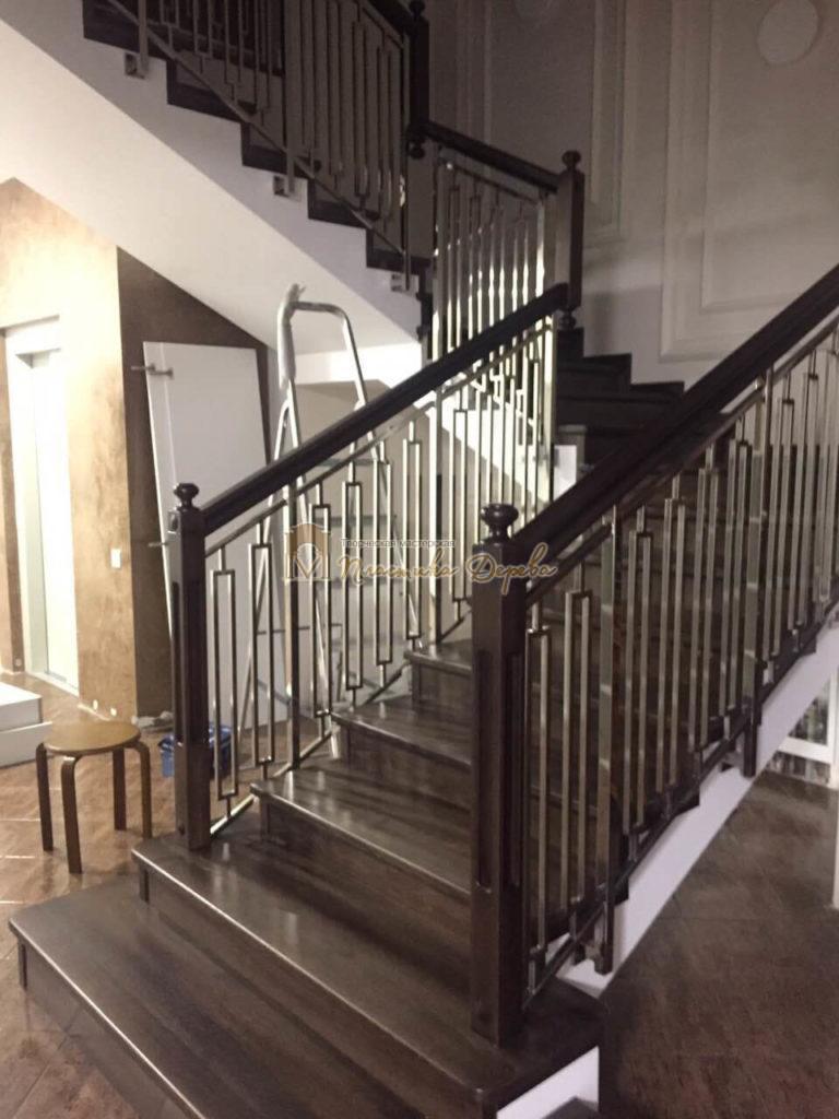 Фото 6 лестницы со стальными элементами