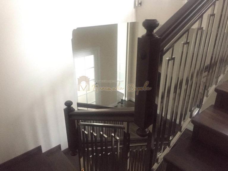 Фото 4 лестницы со стальными элементами