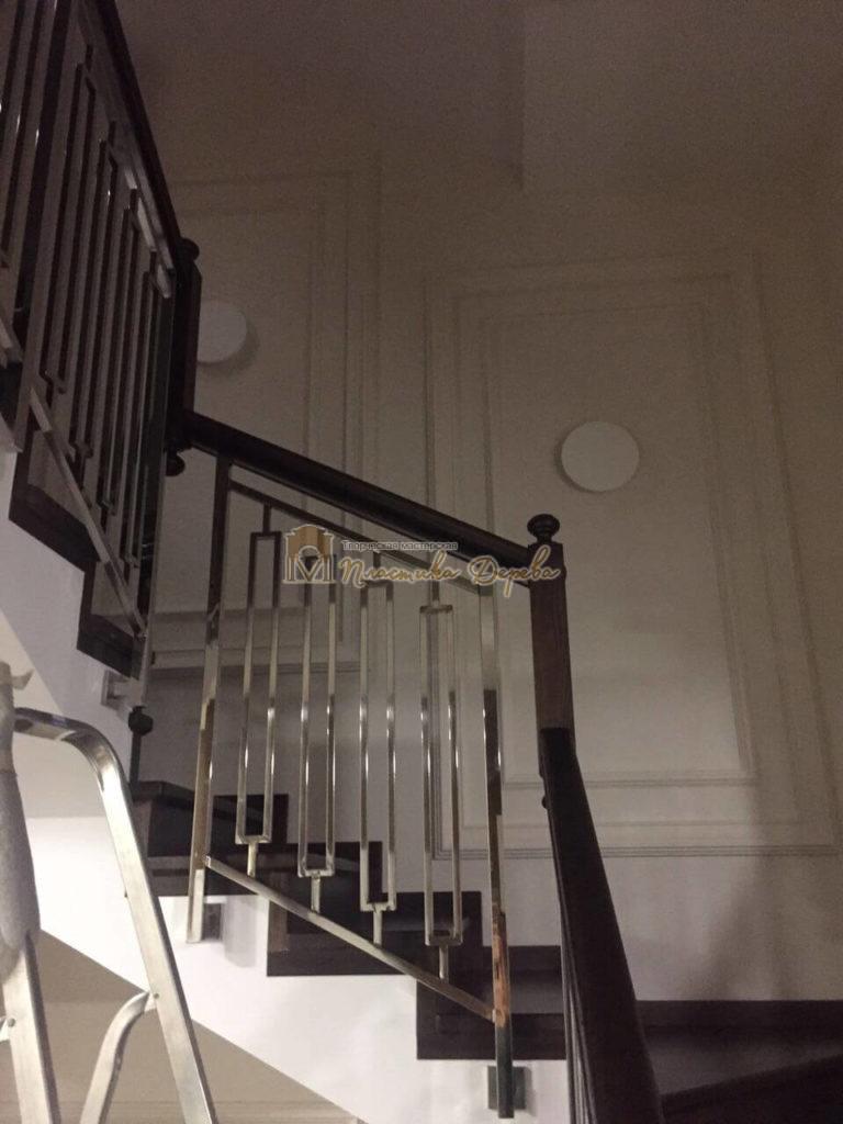 Фото 5 лестницы со стальными элементами