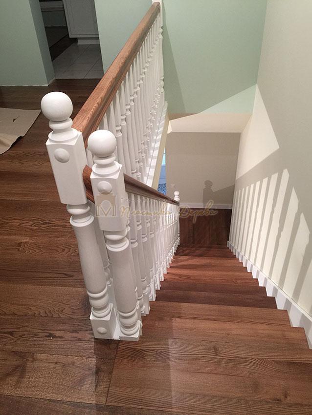 Одномаршевая лестница (фото 2)