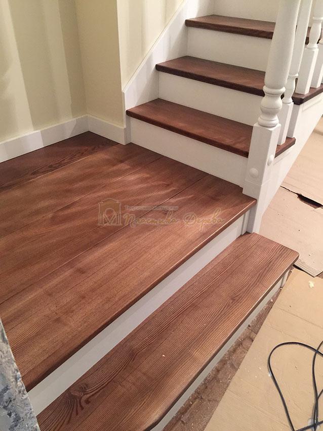 Одномаршевая лестница (фото 8)